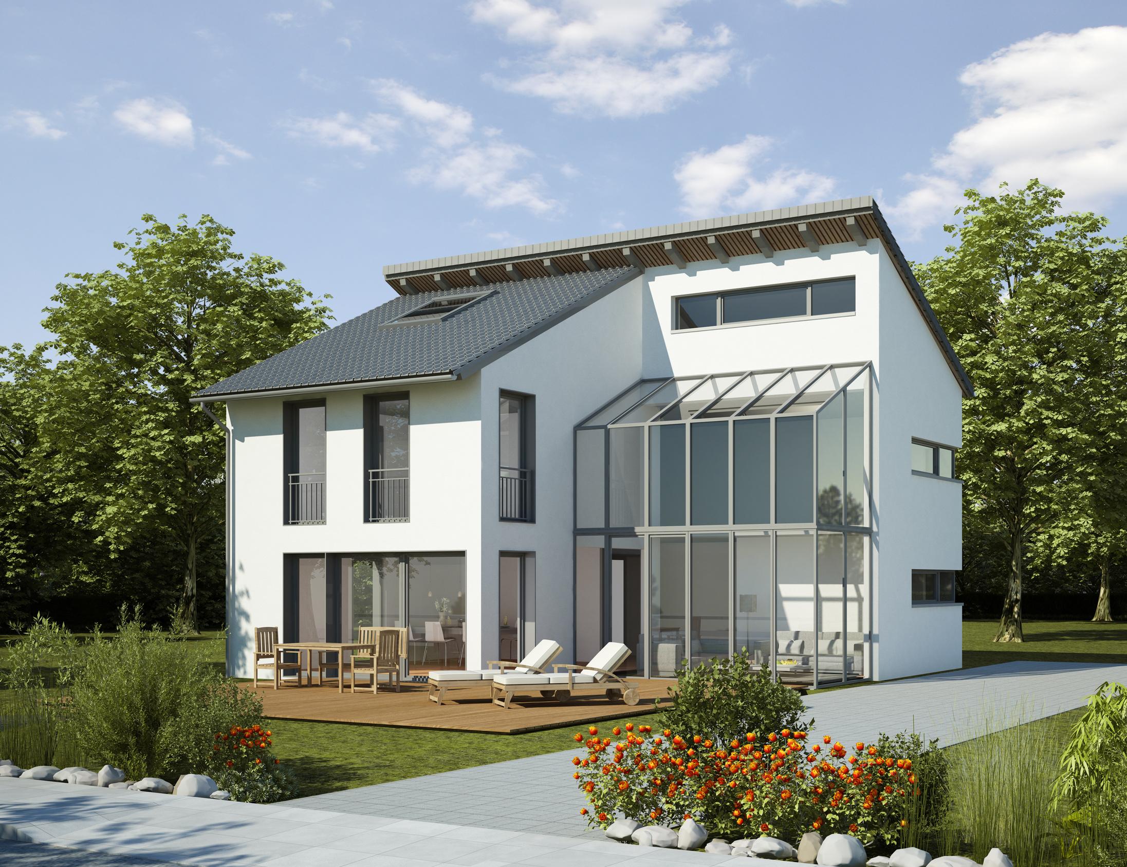 Wir bieten Ihnen die Beratung, Planung und Umsetzung von Wintergärten.