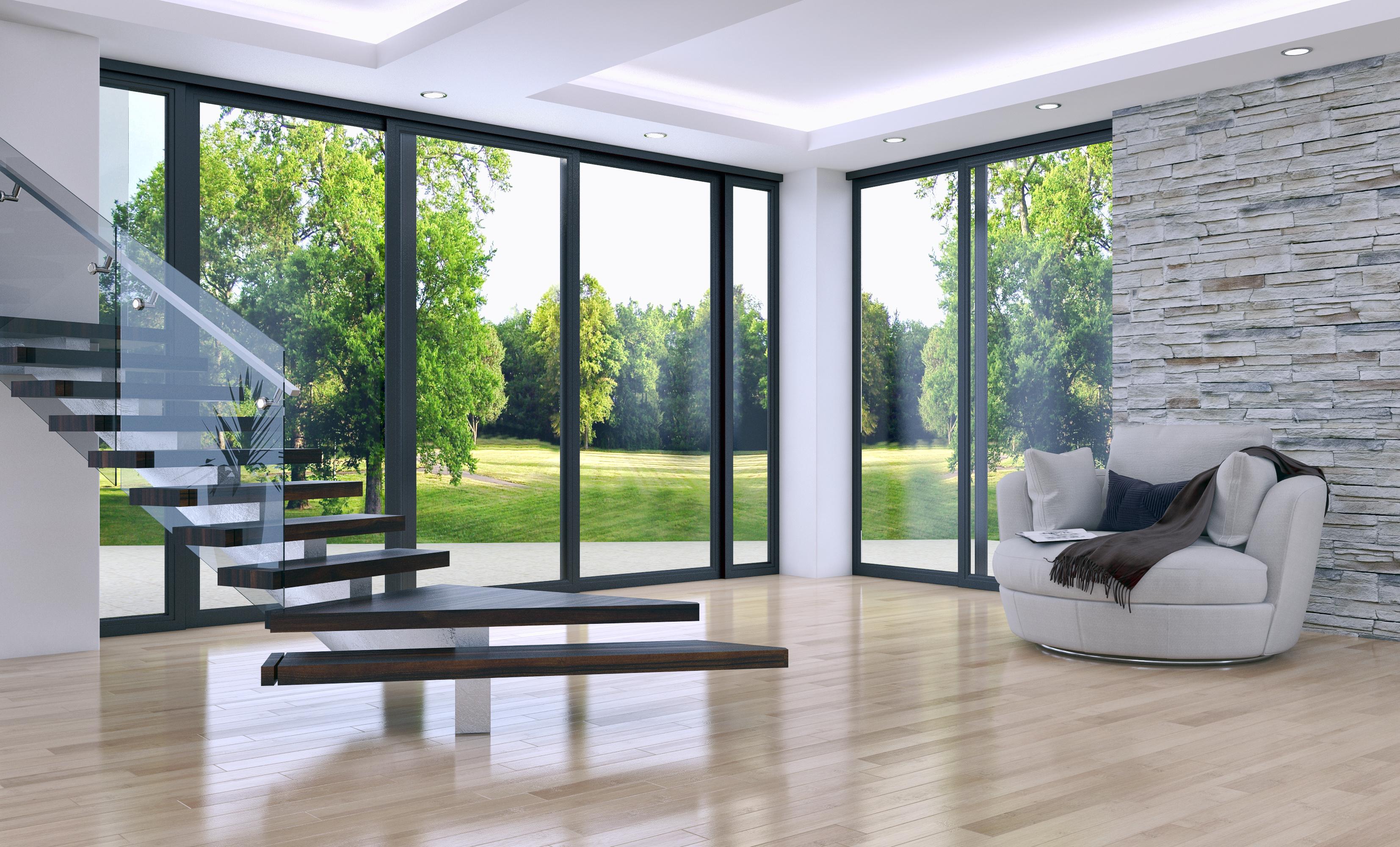 Wir bieten Ihnen den Einbau von Fenstern aller Art.