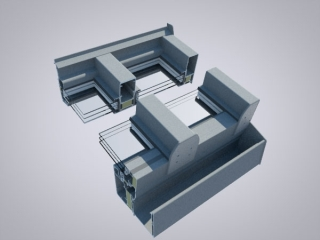 Isoliertes Dachsystem (ideal für ganzjährliche Nutzung bspw. im Wohnbereich)
